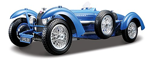Bburago 1:18 Scale Bugatti Type 59 Diecast Vehicle (Colors May Vary)