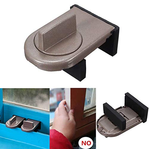 Clothful  Restrictor Door Safe Sliding Window Safety Catch Kids Child Security Sash Lock New