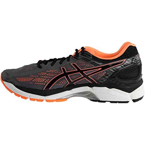 Zapatillas Asics Gel Pursue 3 Para Hombre Carbon / Black / Hot Orange Grey / Orange