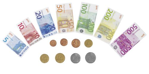 goki 51853 imitation argent factice 84 billets de banque en papier 32 pi ces de. Black Bedroom Furniture Sets. Home Design Ideas