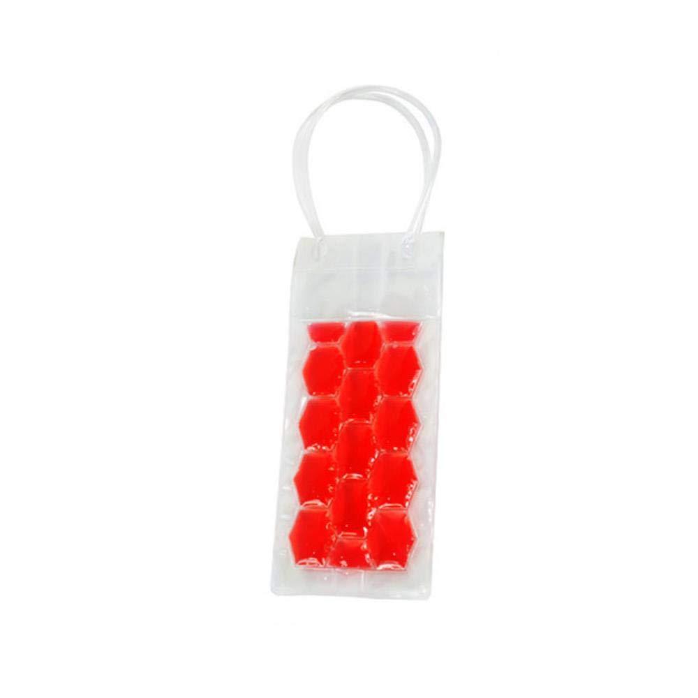 IVYSHION - Bolsa para congelar botellas de vino, de PVC, para ...