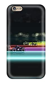 1356468K16855461 For Iphone Protective Case, High Quality For Iphone 6 Tron Legacy Lightcycle Race Skin Case Cover