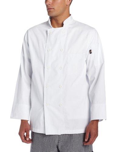 100 cotton chef coat - 6