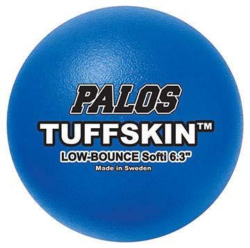 Palos Sports 6.3'' Softi TuffSKIN Foam Dodgeball Set of 6