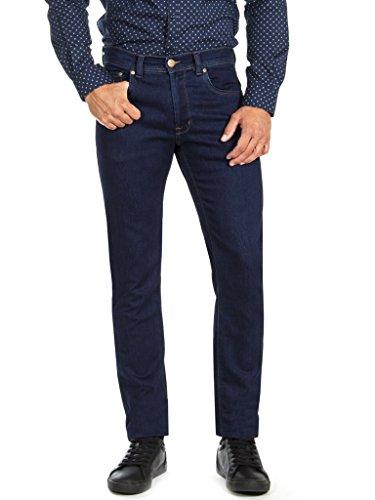 Blu 100 Jogg Jeans Scuro Stretch Oz Denim Carrera 12 Uomo Lavaggio fBqRTcc