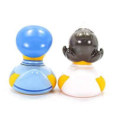 Nurse & Doc First Responders Rubber Duck (Mini Set) Bath Toys by Bud Duck | Elegant Gift Packaging We Care for You | Child Safe | Collectable: Toys & Games