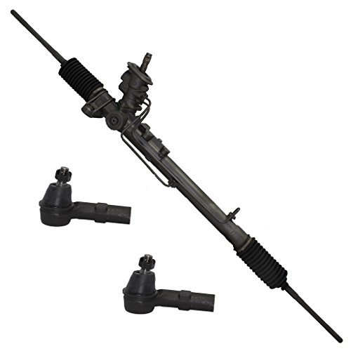 - Detroit Axle Complete Power Steering Rack & Pinion Assembly + All 4 Inner & Outer Tie Rod Ends