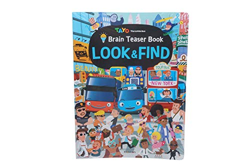 - Tayo Brain Teasers Look and Find