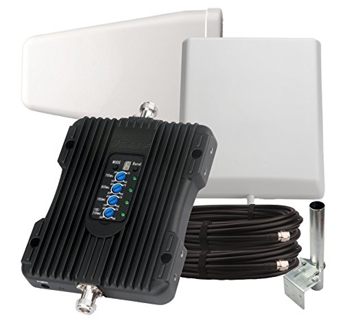 SolidRF Cell Phone Signal Booster BuildingForce 4G-X For Home and Office Full Band All carriers Supports 8000 Ft2