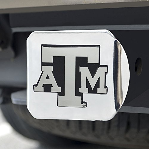 (FANMATS  15103  NCAA Texas A&M University Aggies Chrome Hitch Cover)