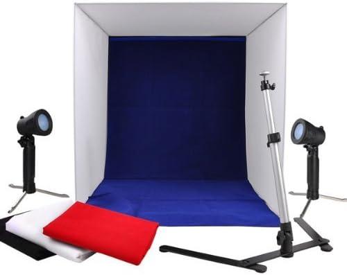 Triprel Inc Home Office 24 Photo Cube Studio Light Tent Box Kit for Online Sale