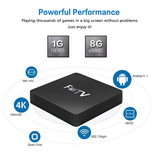 SOUDIO FunTV Box Gen2 Chinese 2018 for Mainland China, Hong Kong and Taiwan  Mandarin Live Broadcast and Video-on-Demand TV Shows, TV Series, Latest