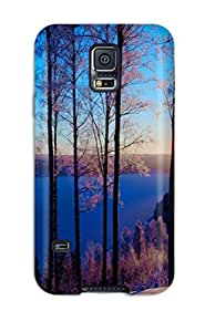 Series Skin Case Cover For Galaxy S5(sunset)