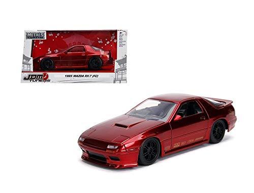 Car Red 7 Rx Mazda - New DIECAST Toys CAR JADA 1:24 W/B - Metals - JDM Tuners - 1985 Mazda RX-7 (FC) 30941