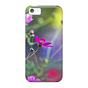 MarilouLCarlson Iphone 5c Hybrid Tpu Case Cover Silicon Bumper Amazing Flowers
