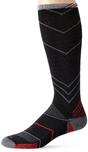 Sockwell Mens Incline Compression Socks  Black  Large X Large