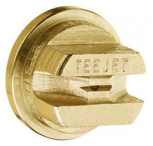 TeeJet TP8003 Brass Flat Fan Spray Nozzle - 80° - 0.3 GPM (Pack of 12)