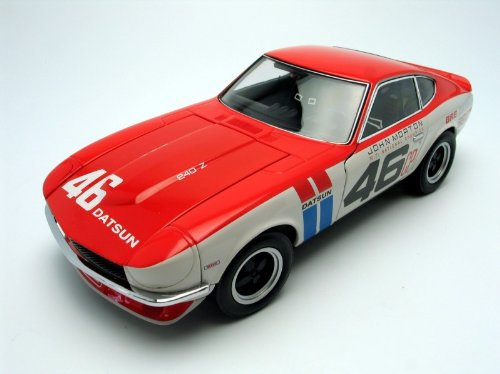Kyosho 1/18 John Morton #46 Brock Racing Enterprises Datsun 240Z: 1970-71 - Racing Kyosho