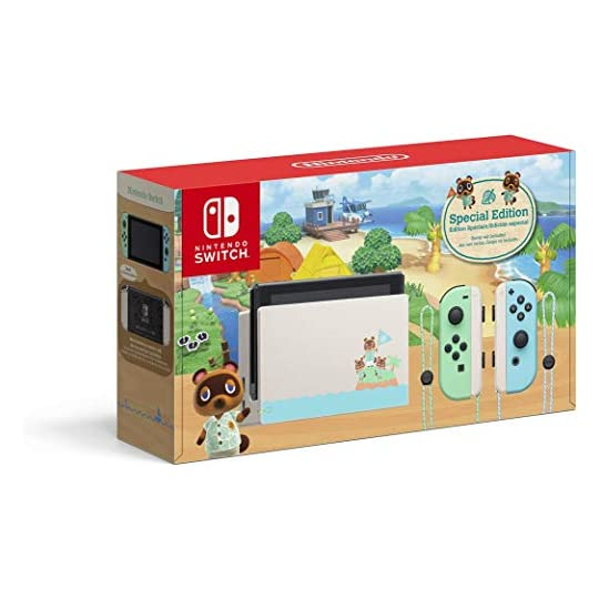 Nintendo Switch – Animal Crossing: New Horizons Edition – Switch