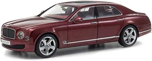 IAIZI モデルカー1:18ベントレー・ミュルザンヌスピードオリジナル合金ボーイカーモデルの装飾シミュレーションのおもちゃの車