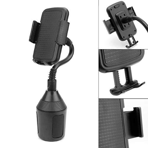 NNDA CO Universal Adjustable Gooseneck Cup Holder Cradle Car Mount for Phone iPhone LG