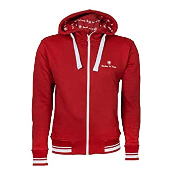 sauber alfa romeo f1 team zip hoody medium at amazon men s clothing store. Black Bedroom Furniture Sets. Home Design Ideas