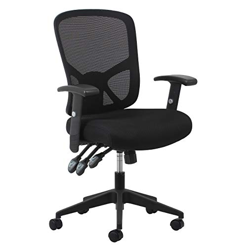 Essentials Customizable Ergonomic High-Back Mesh Task Chair with Arms and Lumbar Support - Ergonomic Computer/Office Chair