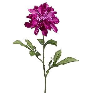 """29"""" Silk Dahlia Flower Spray -Violet (Pack of 12) 16"""