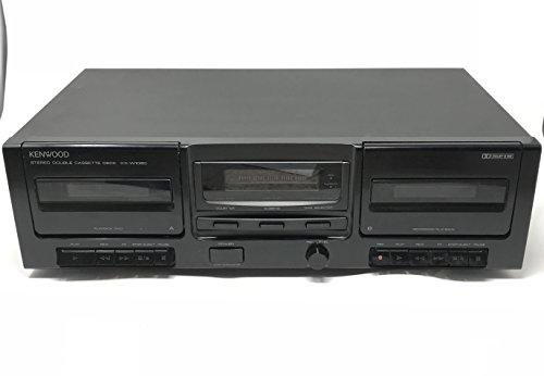 Kenwood Cassette - Kenwood KX-W1060 Stereo Dual Cassette Deck