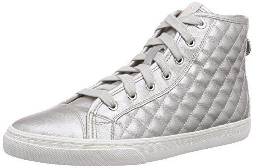 Geox White Gris Altas Giyo off Mujer Zapatillas Para D qq4w8v
