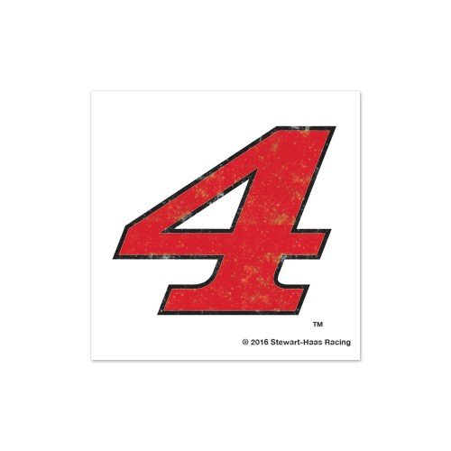 Wincraft Kevin Harvick NASCAR #4 Glitter Temporary Tattoo 2-Pack - -
