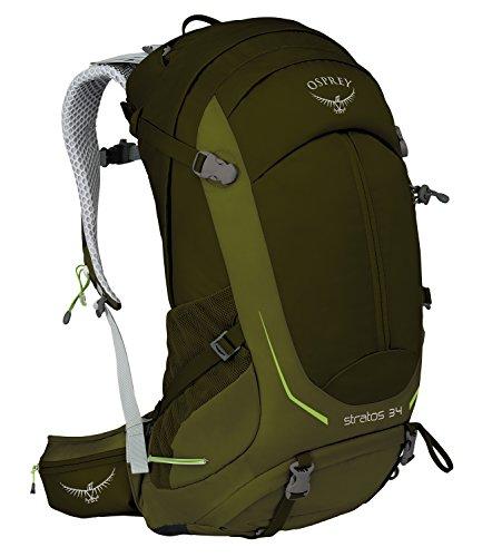 Osprey Packs Osprey Stratos 34 Backpack, Gator green, M/l, Gators Green, Medium/Large