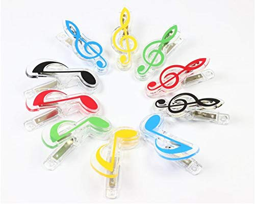 Party Favors - Plastic Music Note Clip Piano Book Page Clamp Musical Treble Clef Clips Wedding Birthday Party Favor - Ball Cube Of Harry Variety Construction Puzzle Rose Kid Monkey