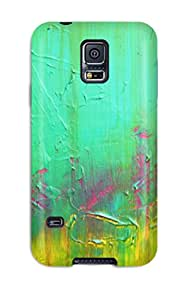 New Style Fashion Protective Abstract Painting Case Cover For Galaxy S5 1030933K16180697