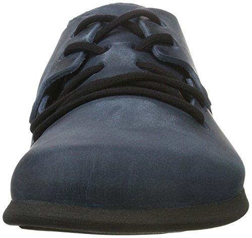 Birkenstock Montana, Zapatos de Cordones Derby Unisex Adulto Azul (Insignia Blue)
