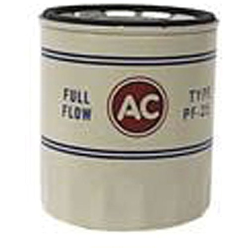 Eckler's Premier Quality Products 50204423 Chevelle Oil Filter PF25 SpinOn Design