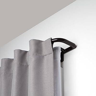Umbra Twilight Room-Darkening Double Curtain Rod for Window