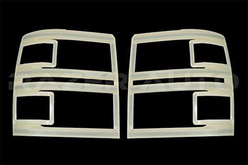 Razer Auto 2014-2015 Chevy Silverado 1500 Prime Non-Paint Trim Headlight Trim cover