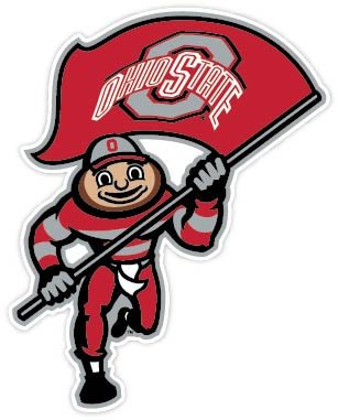 Ohio State Buckeyes Vinyl Sticker 4