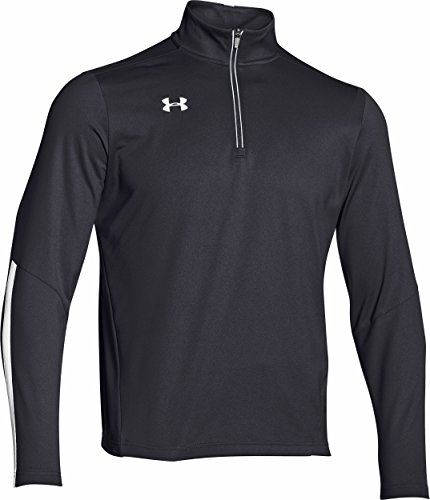 - Under Armour Men's Qualifier 1/4 Zip Pullover,001Black/Wht,Large