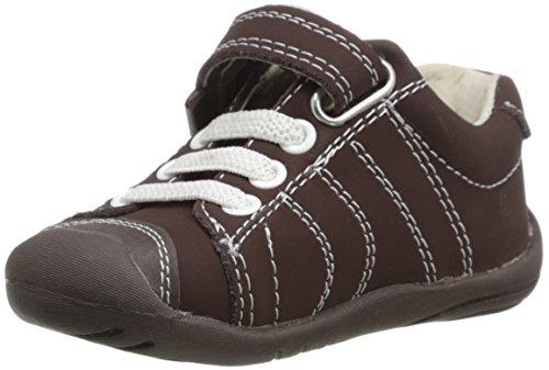 pediped Grip Jake First Walker (Toddler),Chocolate Brown,22 EU (6-6.5 M US Toddler)