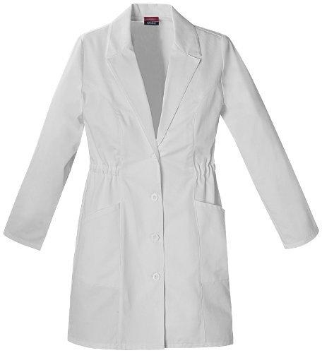 Dickies de la mujer 34 Inch bata de laboratorio, blanco, medio Color: blanco Tamaño: Mediano Modelo: 84402: Amazon.es: Jardín