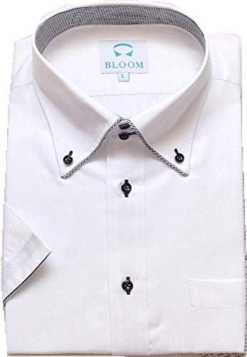 (ブルーム) BLOOM オリジナル 半袖 ワイシャツ クールビズ 形態安定 9 LL