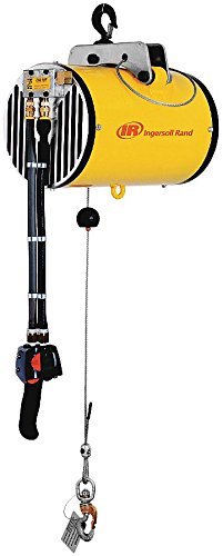 Ingersoll-Rand - ZAW032080SHM - Air Cable Balancer, Swivel Hook Suspension, 325 lb. Max. Capacity, 6-1/2 ft. Hoist Lift