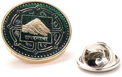 Mount Everest - Pin de solapa para monedas asiáticas de la ...