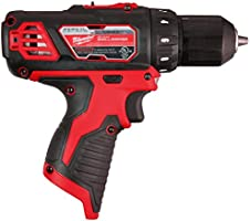 Milwaukee M12 12V 3//8-Inch Drill Driver Bare Tool Only - Battery, Charger, and Accessories Not Included 2407-20