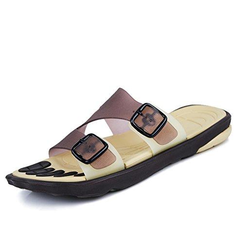 Homens 4inch Anti pé 3 Sapatos Centímetros De Grande De derrapagem Praia 26 Chinelos Verão 10 Comprimento C 1wqad1