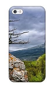 2344436K53007241 Premium Durable Glacier National Park Fashion Tpu Iphone 5/5s Protective Case Cover