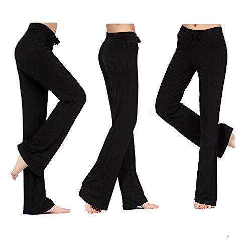 Womens Workout Fitness Boot cut Trousers product image
