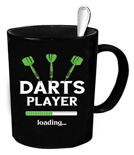 Darts player Coffee Mug 11 oz. Darts player funny gift.